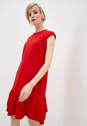 Платье Akris Punto. Цвет: красный