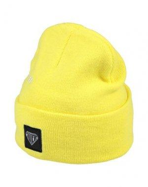 Головной убор IUTER. Цвет: желтый