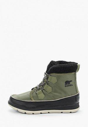 Ботинки Sorel SOREL™ EXPLORER CARNIVAL. Цвет: зеленый