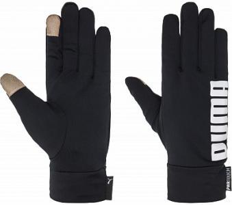 Перчатки Puma Performance, размер 8,5. Цвет: черный