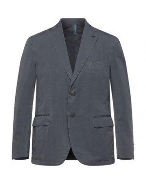 Пиджак HARMONT&BLAINE. Цвет: серый