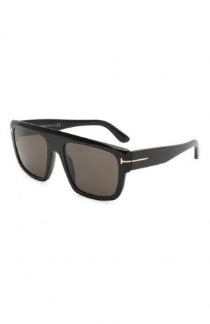 Солнцезащитные очки Tom Ford. Цвет: чёрный