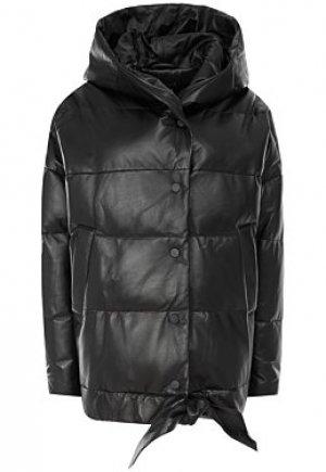 Утепленная кожаная куртка Vericci