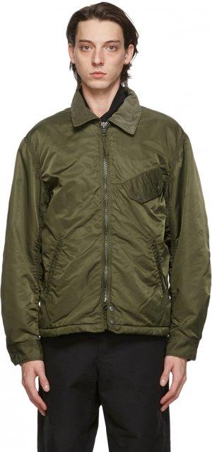 Green Flight Driver Bomber Jacket Engineered Garments. Цвет: ct064 olive
