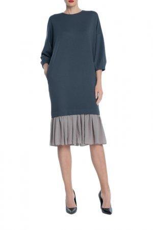 Платье KOGEL. Цвет: серый