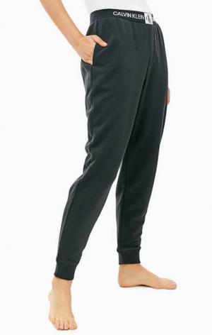 Домашние брюки джоггеры черного цвета Calvin Klein Underwear. Цвет: черный