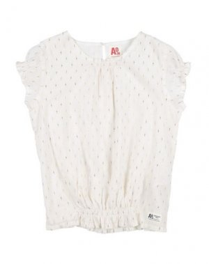 Блузка AMERICAN OUTFITTERS. Цвет: белый