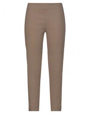 Повседневные брюки CLIPS MORE. Цвет: хаки