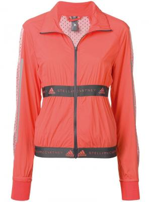 Ветровка Run adidas by Stella McCartney. Цвет: оранжевый