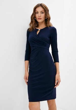 Платье Lauren Ralph. Цвет: синий