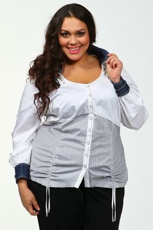Блуза Giani Forte. Цвет: белый