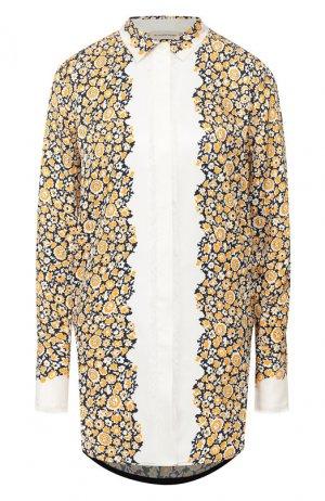 Рубашка с принтом By Malene Birger. Цвет: разноцветный