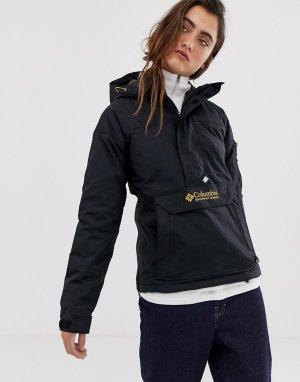 Черная куртка-пуловер Challenger-Черный Columbia