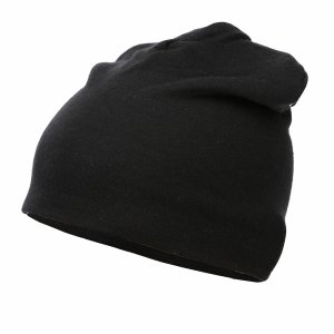 Heavyweight Merino Wool Loose Hat Buff. Цвет: черный