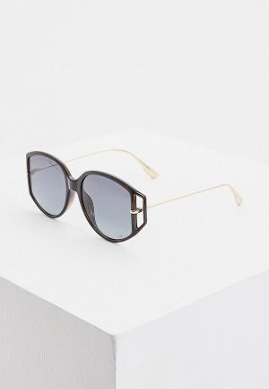 Очки солнцезащитные Christian Dior DIORDIRECTION2 086. Цвет: черный