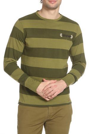 Лонгслив 55DSL. Цвет: зеленый