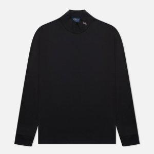 Мужской свитер Turtle Neck Embroidered Logo Polo Ralph Lauren. Цвет: чёрный