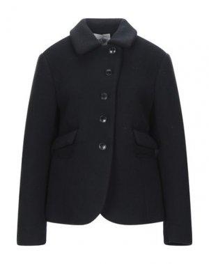 Куртка DOUUOD. Цвет: темно-синий