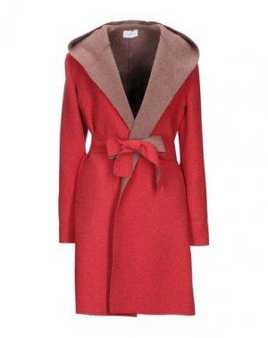 Пальто MANUELA CONTI. Цвет: красный