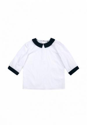 Блуза SCool S'Cool. Цвет: белый