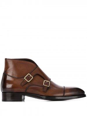 Ботинки монки Tom Ford. Цвет: коричневый