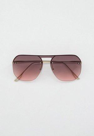 Очки солнцезащитные Keddo. Цвет: серебряный