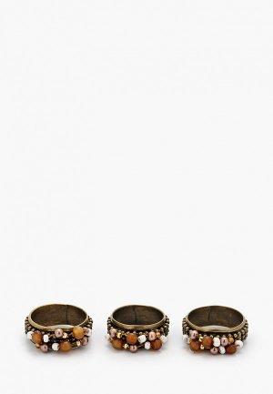 Кольца 3 шт. Franck Herval. Цвет: разноцветный