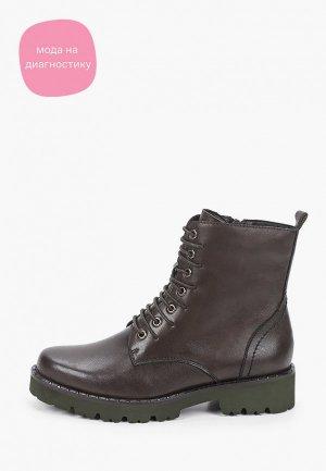 Ботинки Francesco Donni. Цвет: зеленый
