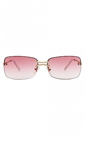 Солнцезащитные очки thats hot Le Specs. Цвет: rose
