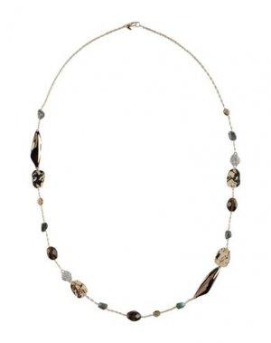 Ожерелье ALEXIS BITTAR. Цвет: золотистый