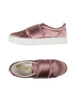 Низкие кеды и кроссовки SAM EDELMAN. Цвет: розовый