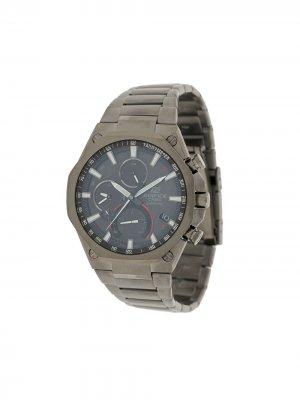 Наручные часы EQB-1100DC1-AER 51 мм G-Shock. Цвет: серебристый