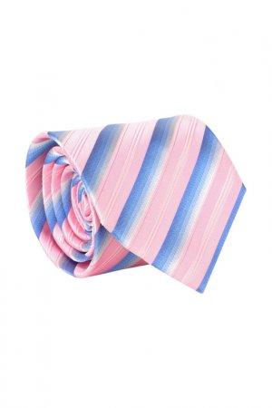 Галстук BOSS. Цвет: розовый, голубой