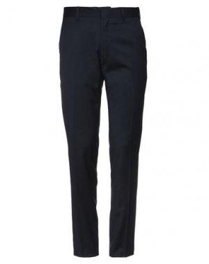 Повседневные брюки HAMAKI-HO. Цвет: темно-синий