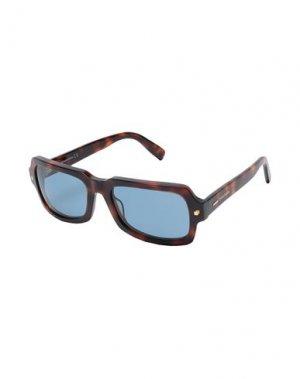 Солнечные очки DSQUARED2. Цвет: коричневый