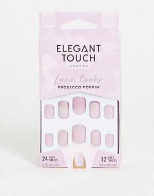 Накладные ногти (Prosecco Poppin)-Фиолетовый цвет Elegant Touch