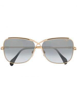 Солнцезащитные очки Cazal. Цвет: золотистый