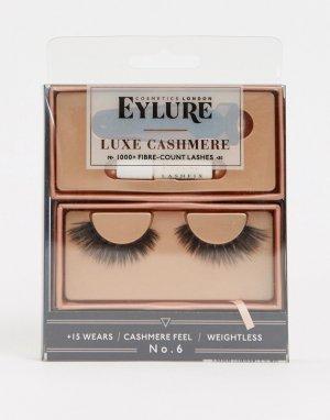Накладные ресницы Luxe Lashes Cashmere No.6-Черный цвет Eylure
