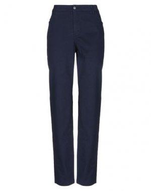 Повседневные брюки MAURICE ABOT. Цвет: темно-синий