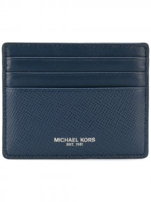 Визитница с логотипом Michael Kors. Цвет: синий