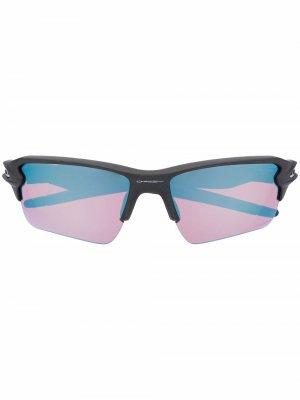 Tinted-lens square-frame sunglasses Oakley. Цвет: черный