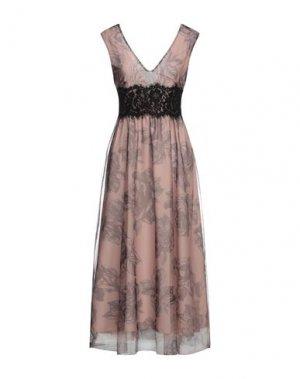 Платье миди IMPERIAL. Цвет: пудровый