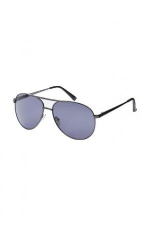 Очки солнцезащитные Fabretti. Цвет: серый