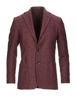 Пиджак SARTORIO. Цвет: красно-коричневый