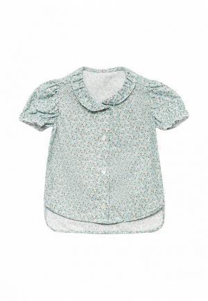 Блуза Frizzzy. Цвет: бирюзовый