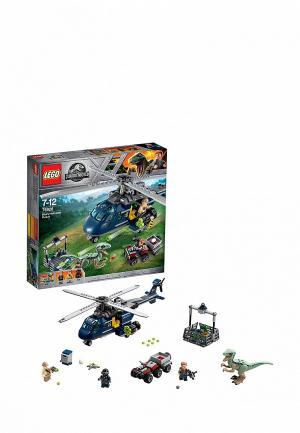 Конструктор Jurassic World LEGO Погоня за Блю на вертолёте 75928. Цвет: разноцветный