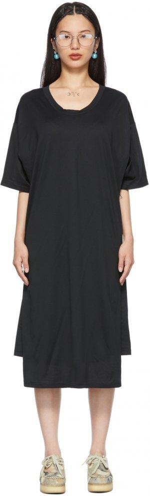 Black N°61 C-T Dress Bless. Цвет: black