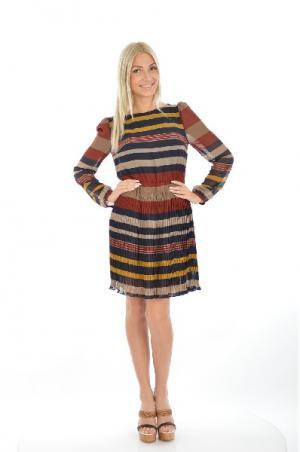 Платье Deby Debo. Цвет: разноцветный