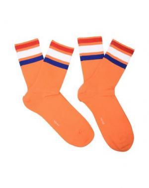 Короткие носки BURLINGTON. Цвет: оранжевый