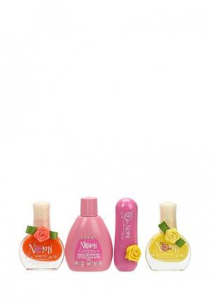 Набор косметики Nomi №21- Лак для ногтей №14,18 ,Детский бальзам губ. Цвет: разноцветный